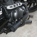 Yamaha Star Bolt Megaphone exhaust