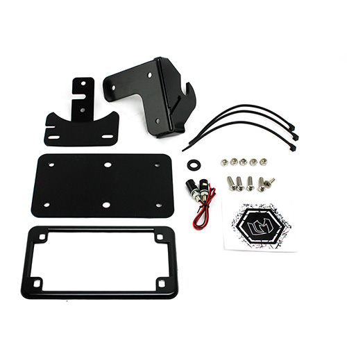 Bolt Controls, License Plate, & More