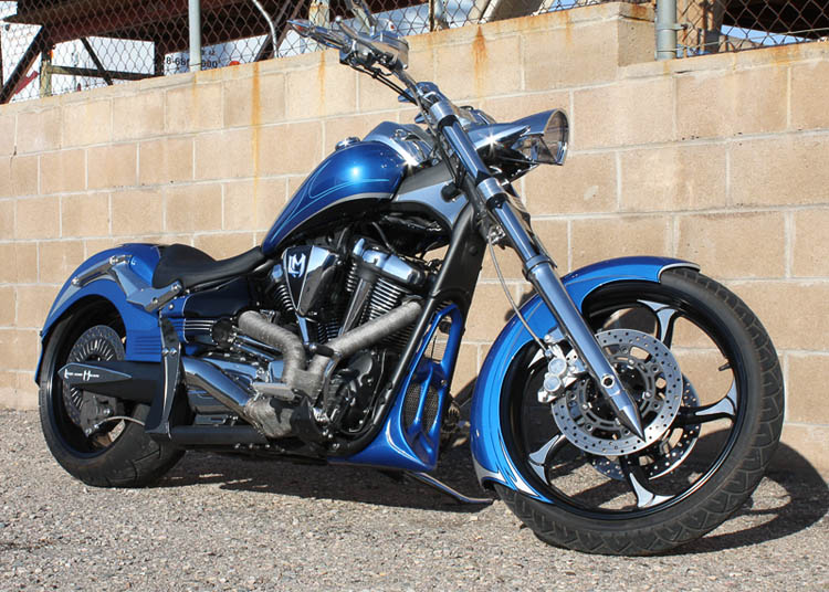 Custom Street Fighter Raider 1900 Low And Mean